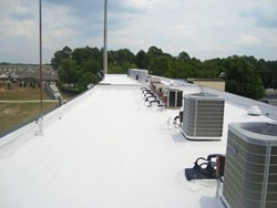 Flat Rubber Roof Coating Columbus