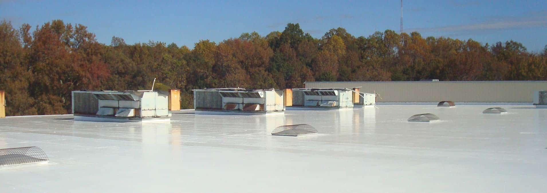 Elastomeric Roof Coatings Atlanta | Commercial Roof Repair